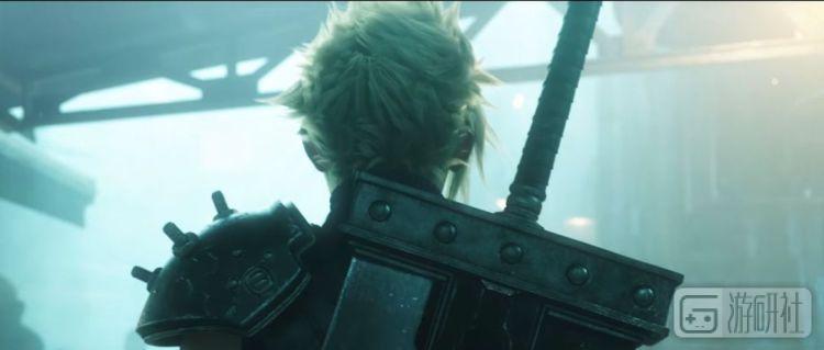 《最终幻想VII》重制版的预告片结尾