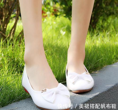 人到四十得注意,穿鞋要合脚,好鞋合而不磨,穿出别样美