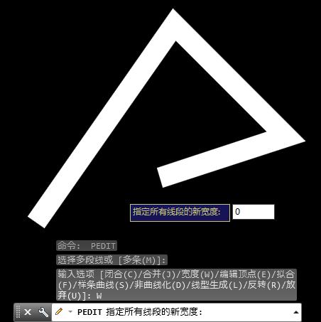 用CAD多段线画线时线宽请问很粗的复制cad变成不能文件为什么文件图片