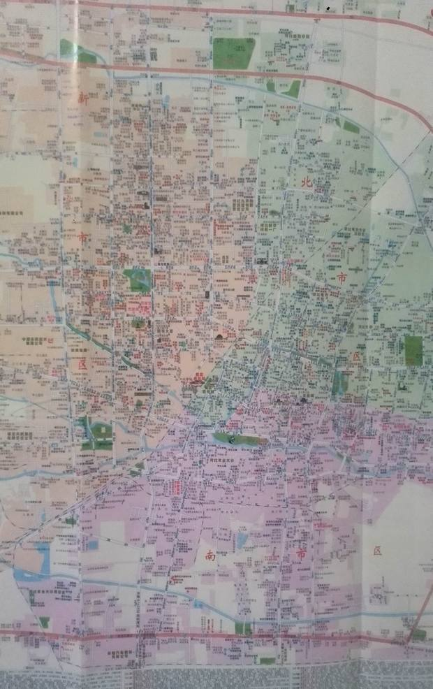 保定市竞秀区和莲池区的具体分界点在什么地方