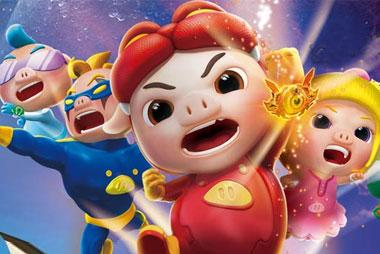 幸福猪猪头像 可爱图片