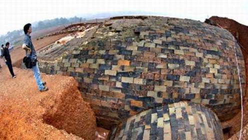 考古队挖出震撼世界的超级大墓,占地1.5万平方米,墓内遍地奇珍