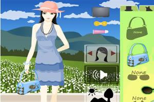 春游MM春游,换装MM换装小游戏,360小游戏-3小学意兴图片