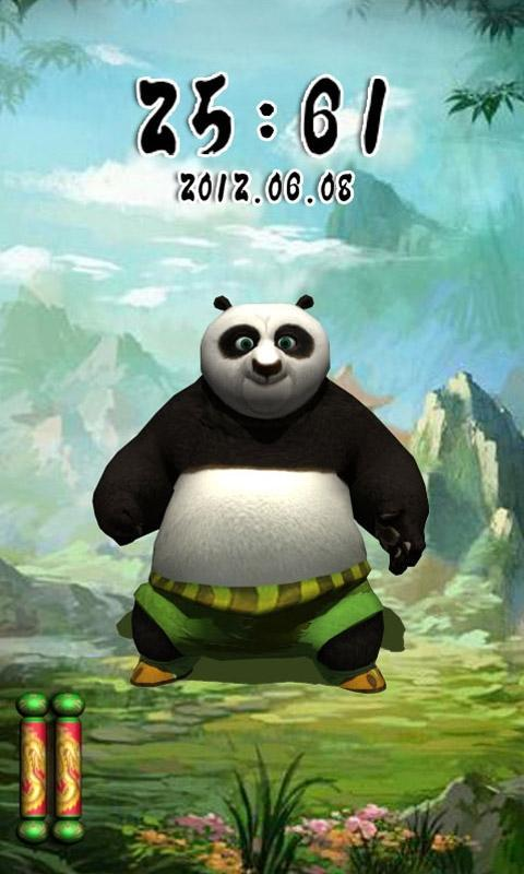 游戏锁屏主题_熊猫人之谜_桌面壁纸(来自:)