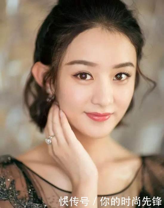 温雅时尚网-赵丽颖的减龄时尚发型,圆脸女生还不快来尝试!