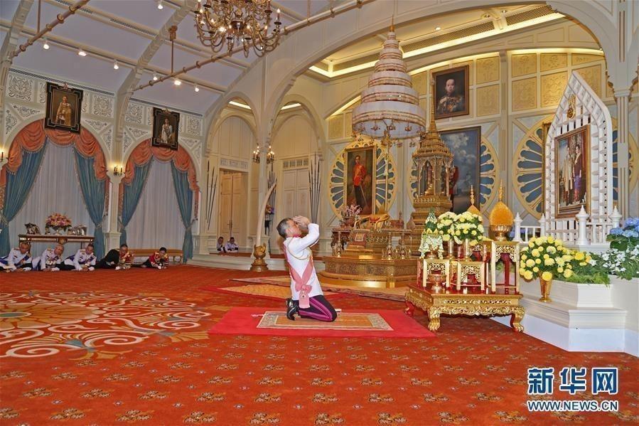 泰国新国王拉玛十世哇集拉隆功正式登基 - 周公乐 - xinhua8848 的博客