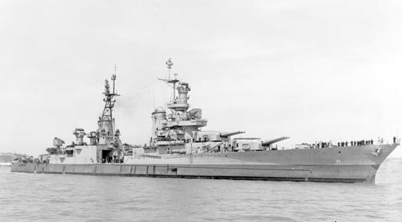 美二战被击沉军舰找到