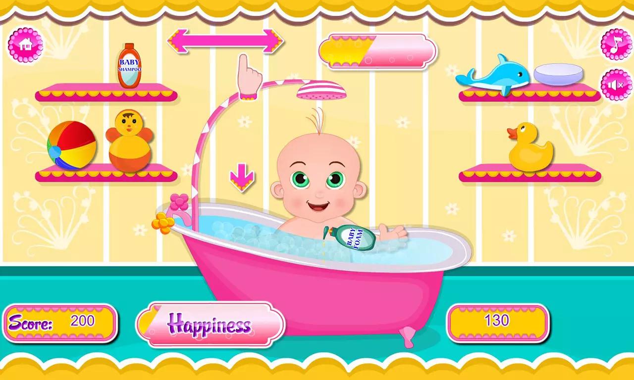 """用""""宝贝艾米丽的护理日""""这款游戏您可以看看照顾可爱"""