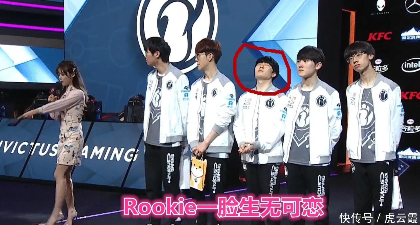 IG赢比赛Rookie却生无可恋,独自通宵训练,他难以忍受退步表现!