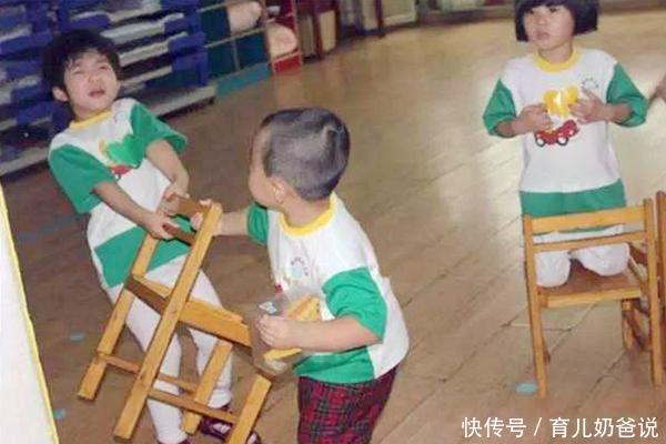 女儿在幼儿园抓伤小男孩,对方妈妈接受道歉,爷爷却说要报警