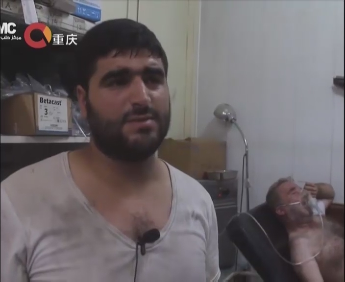 Aleppo, Syria, a hospital was shelling caused 10 deaths and 20 people were injured