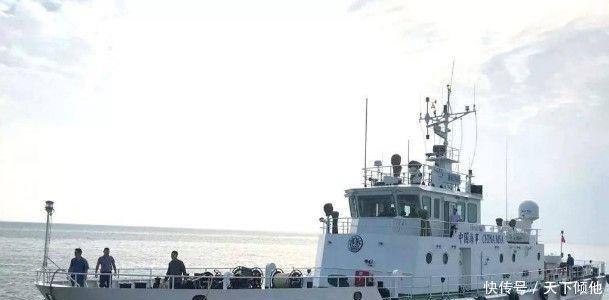 壮观汕尾迎来这艘先进的海巡船