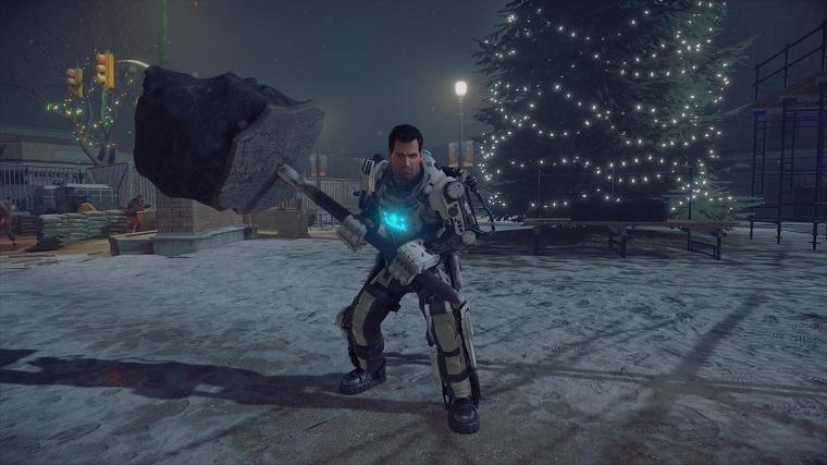 《丧尸围城4》圣诞节主题