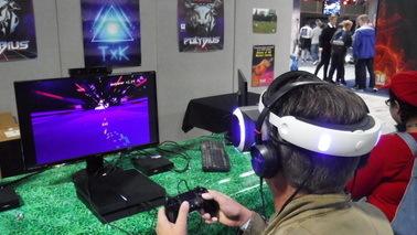 街机游戏《波力比阿斯》VR版即将登陆PSVR