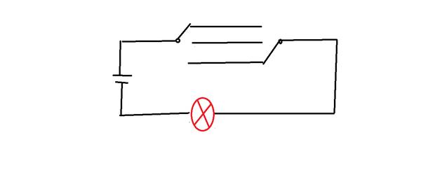 双联双控电灯开关电路图