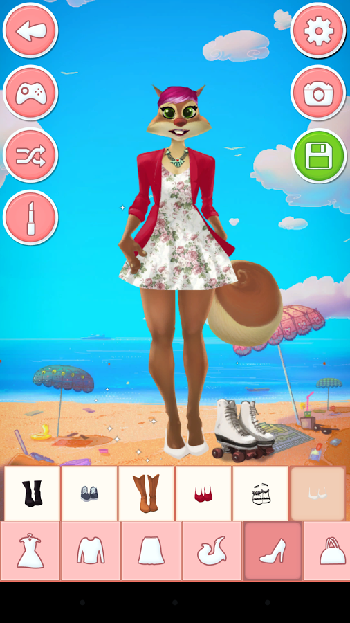服装设计 装扮小游戏截图15