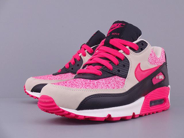 正品耐克跑步鞋nike max90女鞋休闲运动鞋女内增高气垫 高清图片