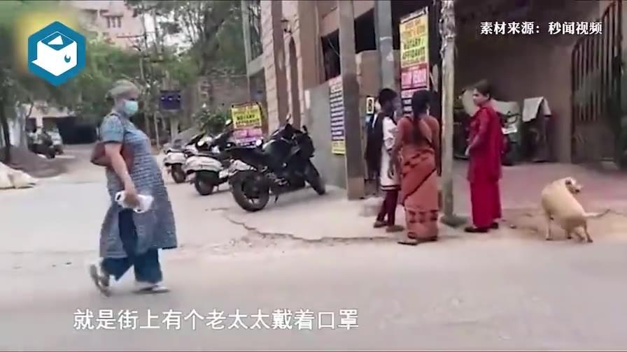 中国姑娘实拍印度防疫情况,当地小伙不戴口罩称新冠是啥?网友直呼胆大!