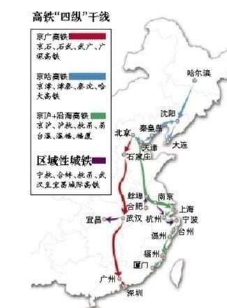郑徐客运专线,合武客运专线等客运专线铁路衔接