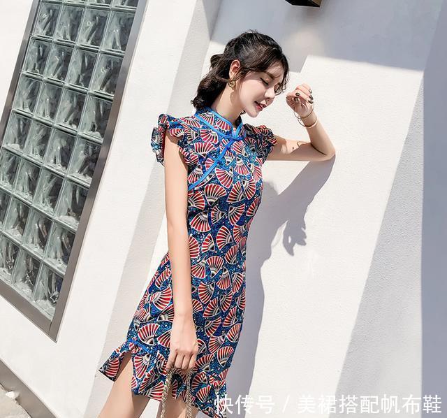 女生穿衣贵的才漂亮?那可不一定,小衫+连衣裙就是便宜还百搭