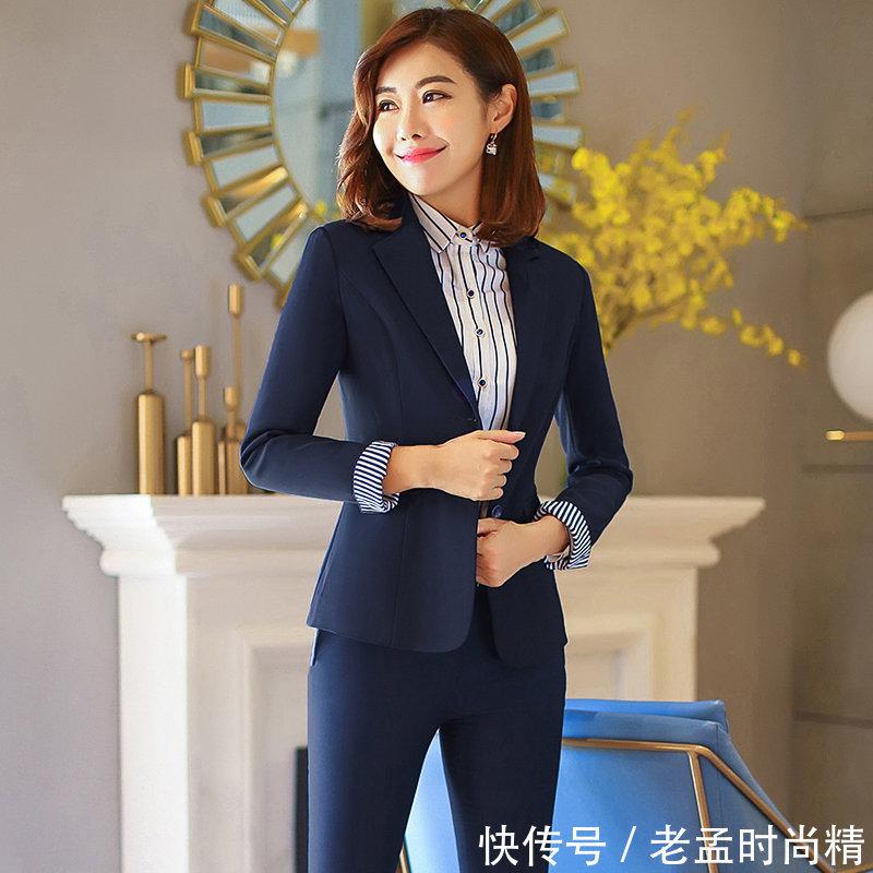 年会上该穿什么? 建议女性试试这几种职业装, 干练优雅又不失性感