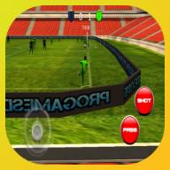 免费的3D足球足球真正发挥作用