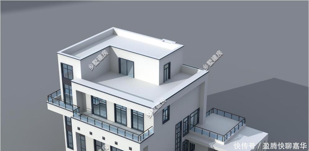 图纸自建别墅平屋顶v图纸中看的是真农村!坡cad的本事多余好看字不到图片