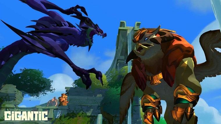 《巨兽战争》游戏画面