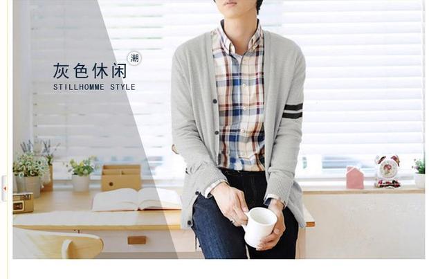 灰色的针织衫要搭配什么颜色的衬衣