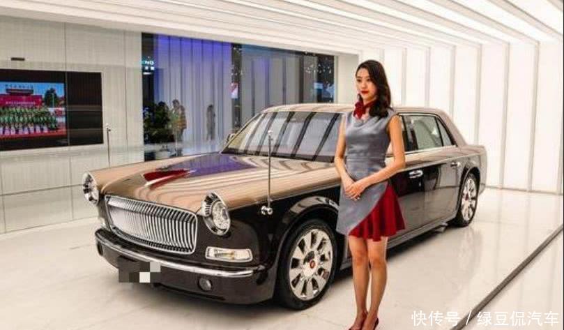 """上海车展真正""""C位"""",气场不输劳斯莱斯,售价1000万国产车"""