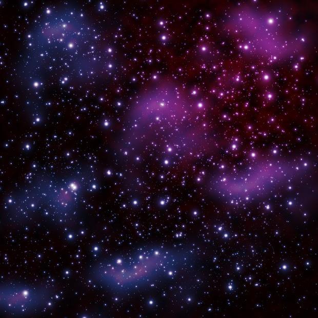 怎么用丙烯颜料画星空 背景怎么涂,星星的光晕怎么弄