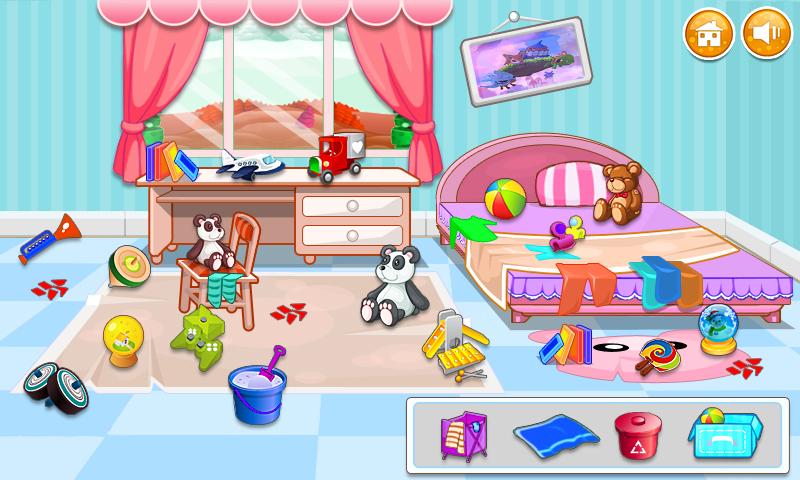 干净的房子少女游戏