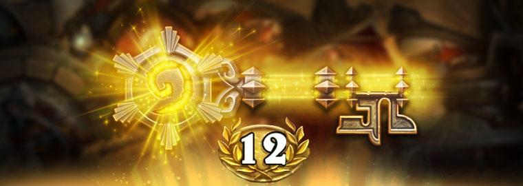 《炉石传说》竞技场12胜七月排行榜公布