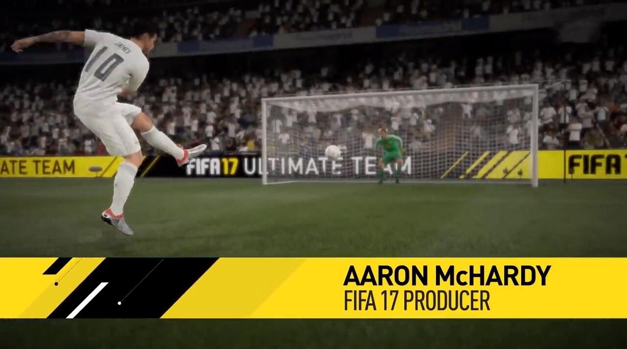《FIFA 17》定位球系统新特性