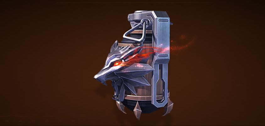 狼王套装投掷武器——手雷