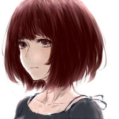 求类似动漫短发女生头像