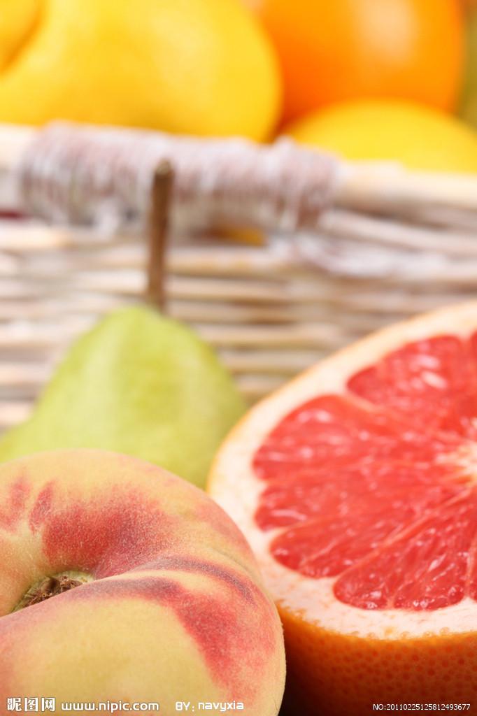 橡皮章素材 西柚