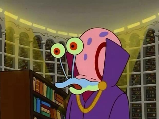 海绵宝宝的小蜗会说话吗?哪一集?