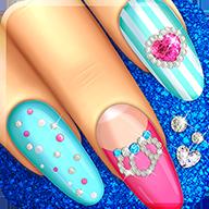 指甲图案女孩游戏