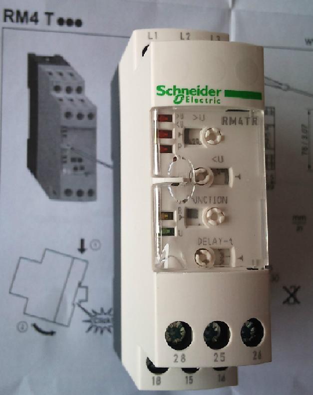 相序保护器接线图