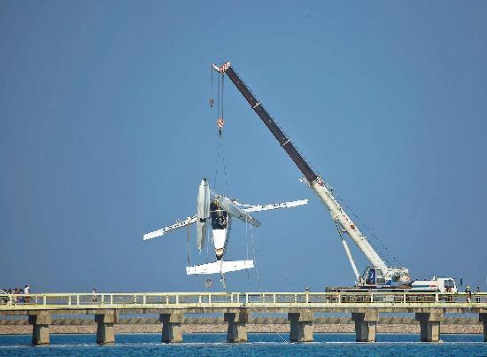 20日,幸福通航一水上b-10fw飞机,在执飞上海金山至舟山航线起飞过程中