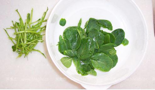 蔬菜捏泥步骤图