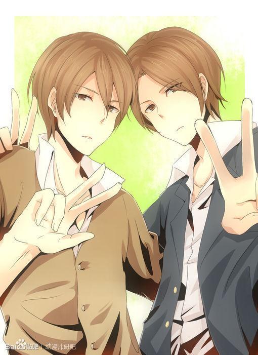双胞胎兄弟动漫图片