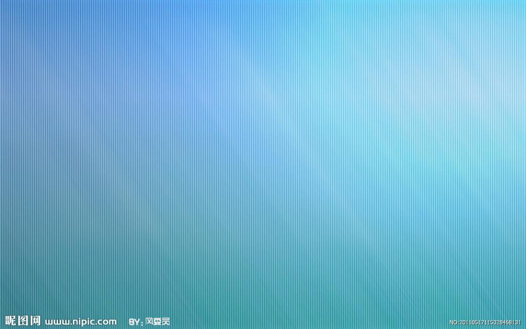 青色欧式墙纸贴图