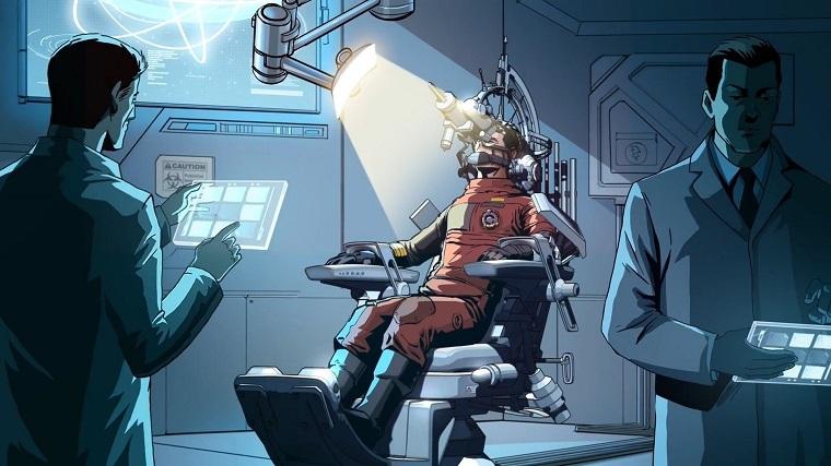 连接外星人获取技能的实验