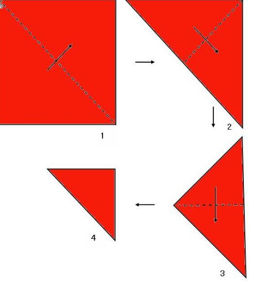 蝴蝶剪纸图案教程 福字应该怎么剪_儿童剪纸