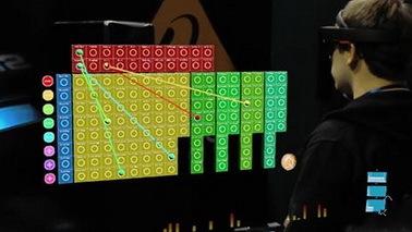微软HoloLens搭配音乐合成器 实现在MR中创作音乐