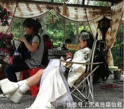 四美女千年鞠婧拍戏时踩高跷其实矮个女明狗图片狗美女抱图片