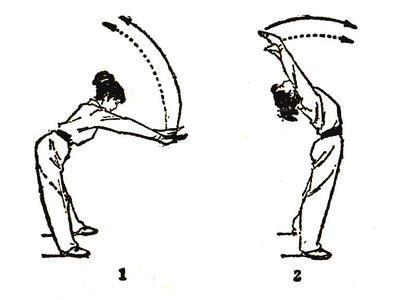 练武术简笔画分解步骤图片