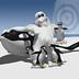 雪球击企鹅